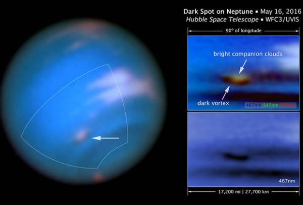 Снимок Hubble