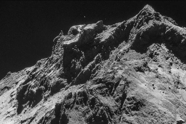 На комете обнаружили признаки льда