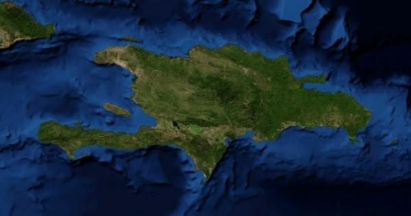 Гаити из космоса