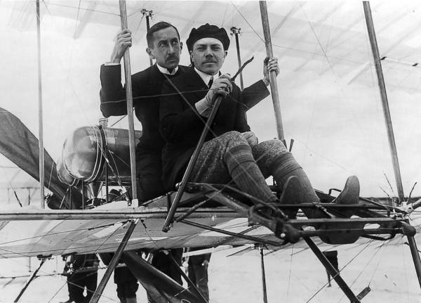 Летчики Попов и Ефимов