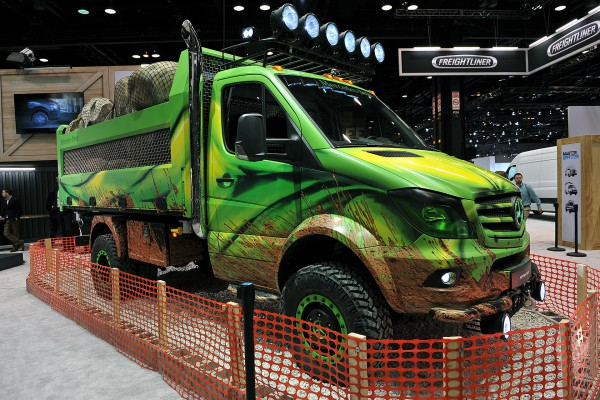 Концептуальный грузовик Sprinter Extreme