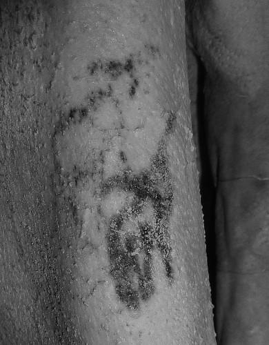 Татуировку нашли на мумии