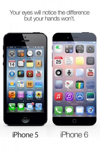 Сравнение iPhone 5 и iPhone 6