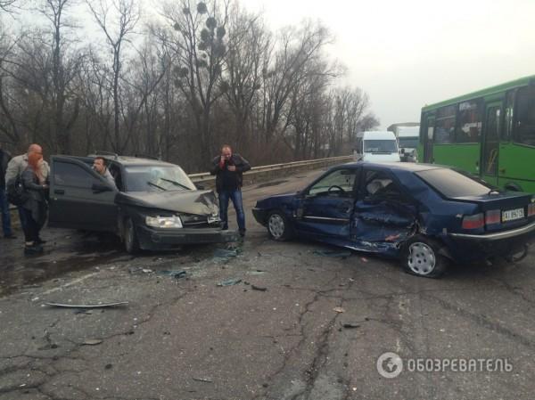 Авария в Киевской области