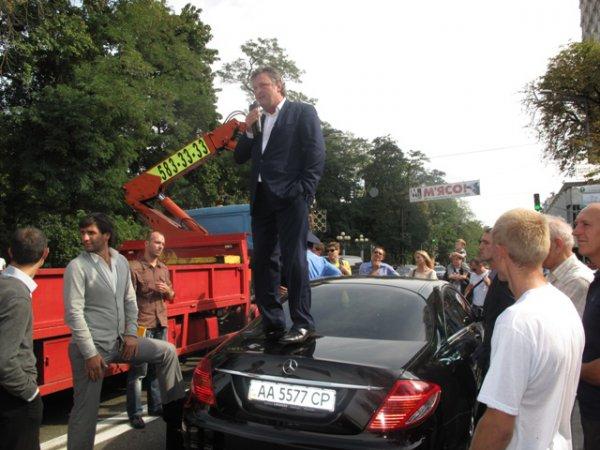 Балашов утверждал, что его Мерседес сломался