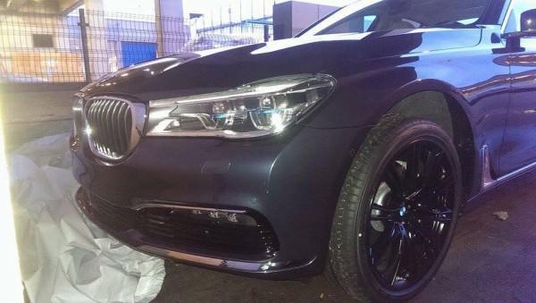 BMW 7-Series попалась шпионам