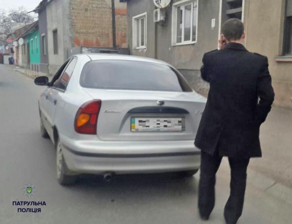 Патрульные поймали пьяного прокурора