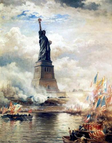 Открытие Статуи Свободы