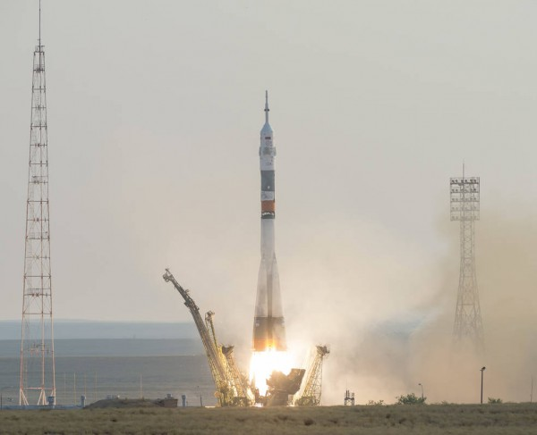 Запуск ракеты с Байконура
