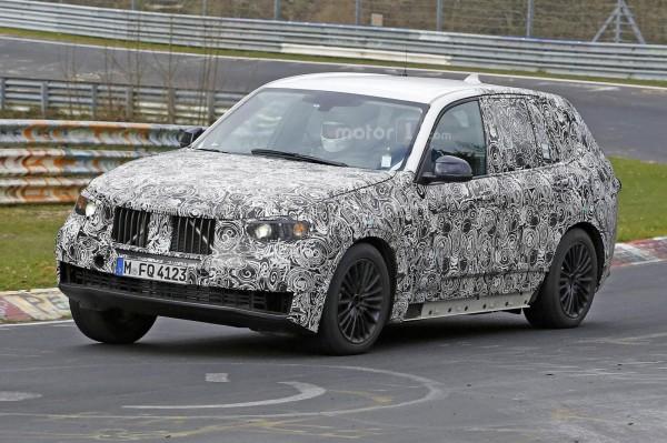Кроссовер BMW X5 нового поколения испытали на Нюрбургринге