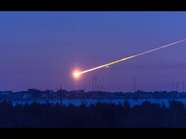 Возле Львова пролетел метеор
