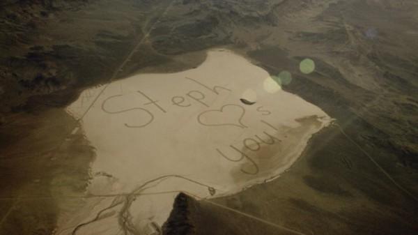 Послание видно из космоса