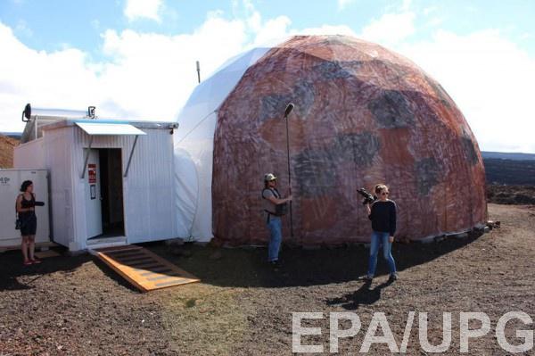 Участники эксперимента проживали в закрытом комплексе в форме купола