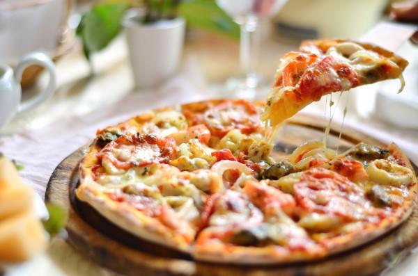 Рецепт                  Пицца с крабами и овощами по-ванкуверски