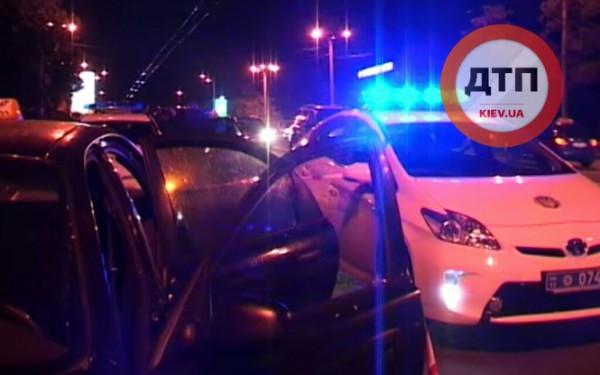 В Киеве гаишники гонялись за Daewoo