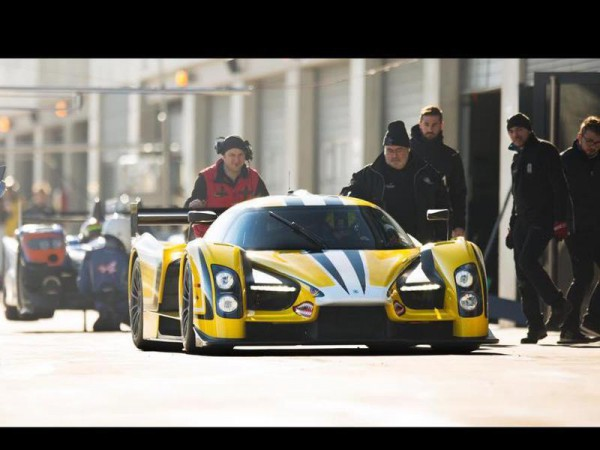 Суперкар SCG 003 побил рекорд в Германии