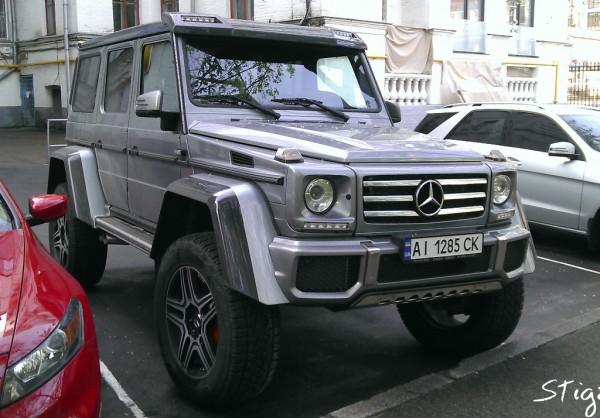 Mercedes-Benz G 500 4X4² в Киеве