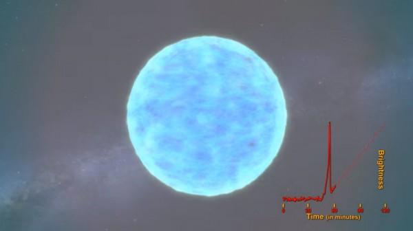 Видео анимации сверхновой выложили на сайте NASA