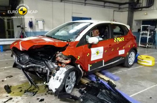 Renault Captur прошел краш-тест на отлично