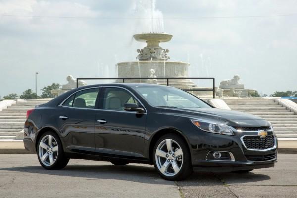 Chevrolet Malibu признали самым качественным в своем классе