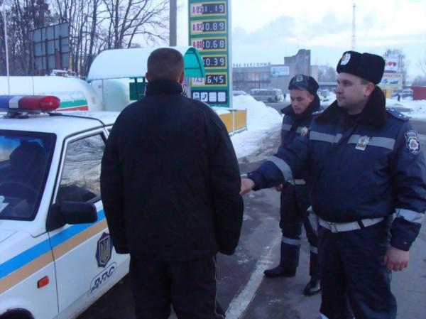 Водителя задержали. Им оказался 21-летний житель Закарпатской области