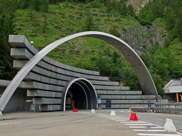 Туннель под Мон-Бланом