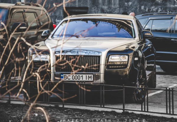 Юбилейный Rolls-Royce Ghost Alpine во Львове