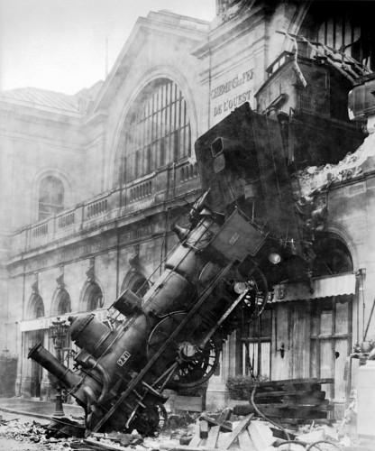 Крушение на вокзале