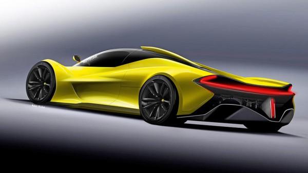 Новый спорткар McLaren