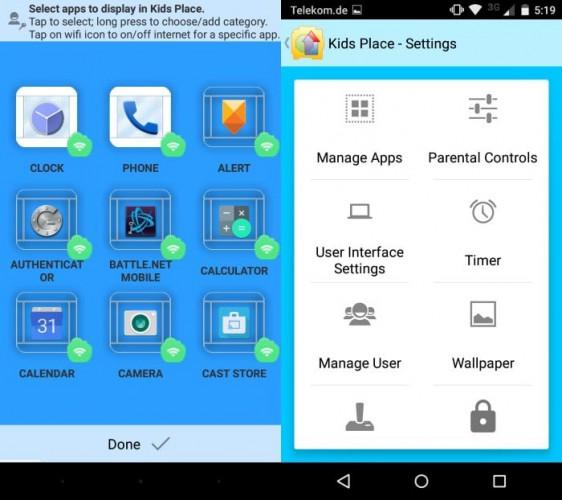 Родительский контроль Kids Place