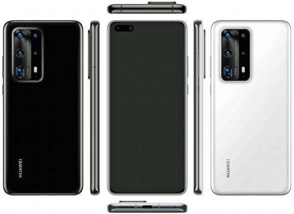 Рендер внешнего вида Huawei P40 Pro Premium Edition