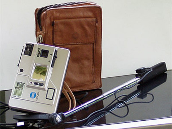 Палка для селфи с фотоаппаратом Minolta