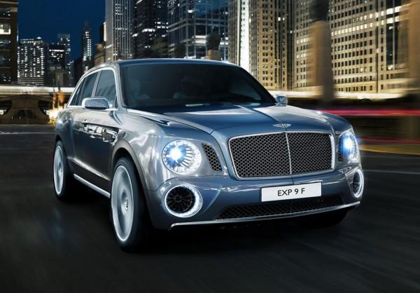 Серийный Bentley не будет копировать дизайн EXP 9F (на фото)
