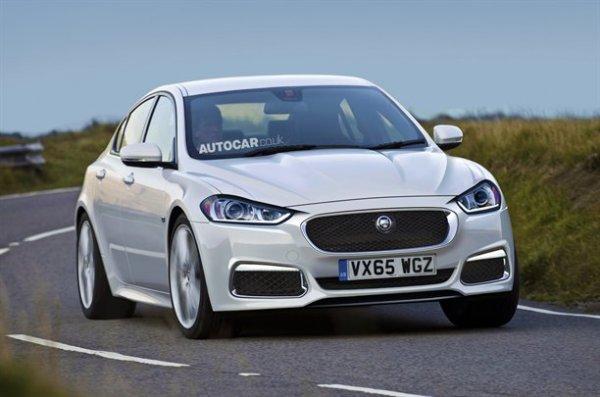Неофициальная иллюстрация новой модели Jaguar