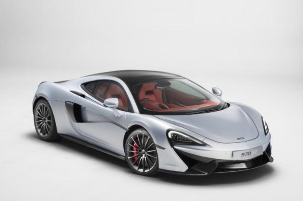 McLaren представил спорткар с двумя багажниками