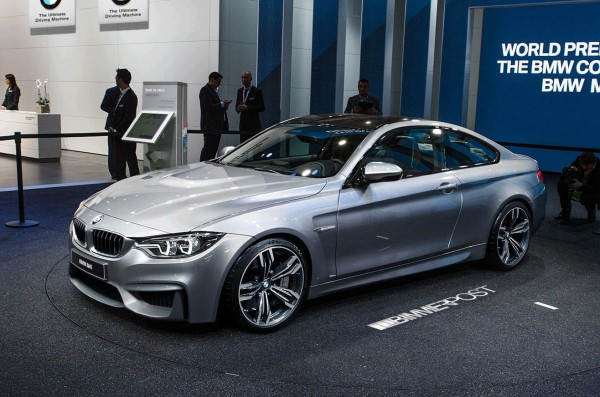 Иллюстрация BMW M4 (фотошоп 4-Series Concept)