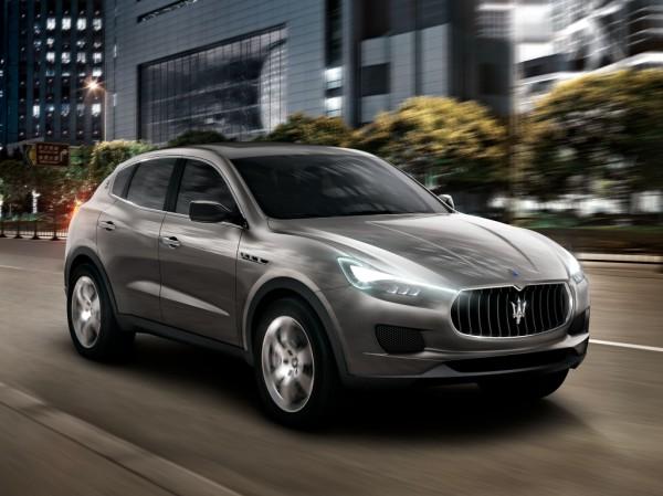 Концепт Maserati Kubang - предвестник Levante