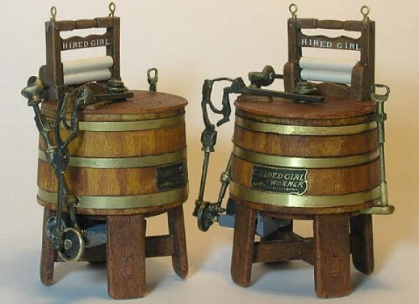 Первые стиральные машины
