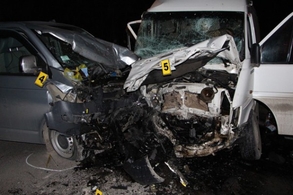 В аварии погиб один человек