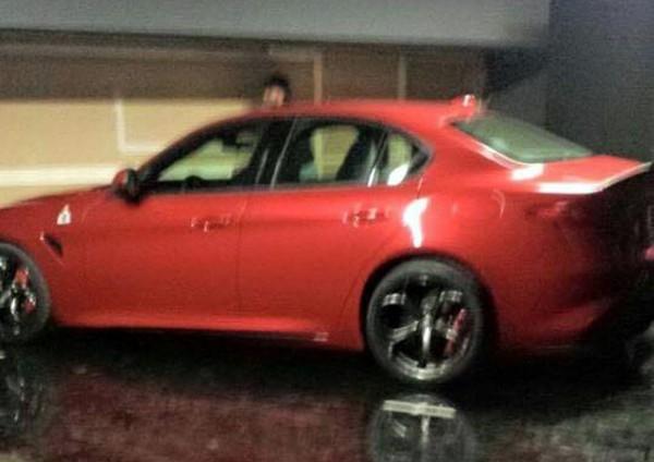 Новый седан Alfa Romeo