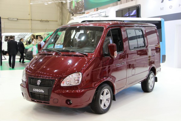 SIA 2013: Соболь-БИЗНЕС. Грузопассажирский фургон (ГАЗ-2217-388)