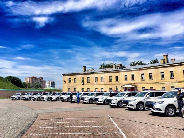 ВКиев прибыли новые автомобили для Нацполиции