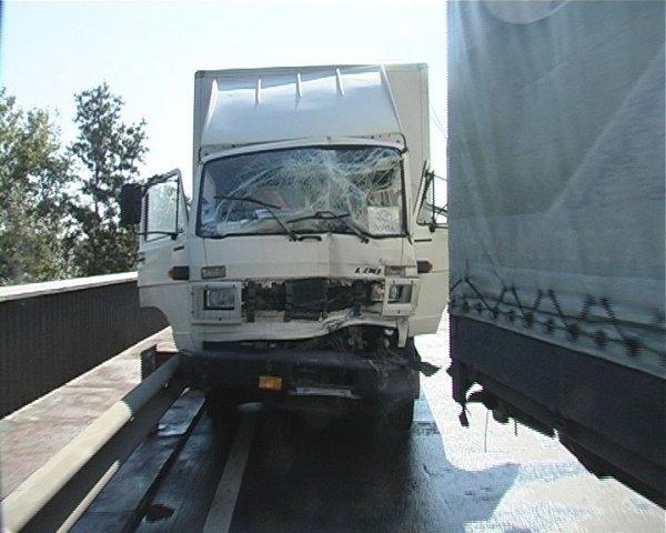 Из-за ДТП движение транспорта было парализовано