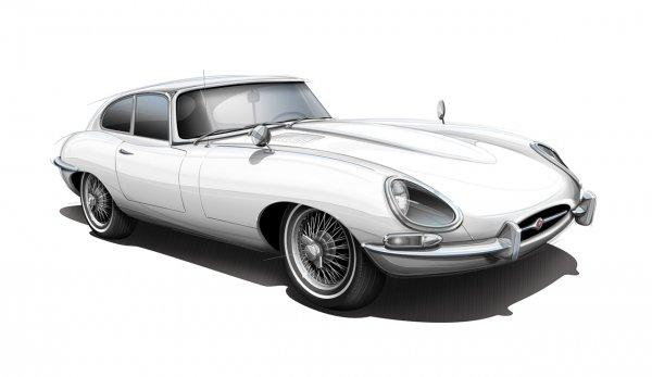 Jaguar E-Type Series 1 Coupe – $65 000