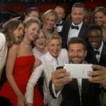 Звездное сэлфи на церемонии Оскар в марте 2014