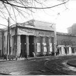 Так кинотеатр Жовтень выглядел в 1950-е гг. Фото из ЦГА КФФД