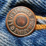 Фирменная медная заклепка Levi Strauss