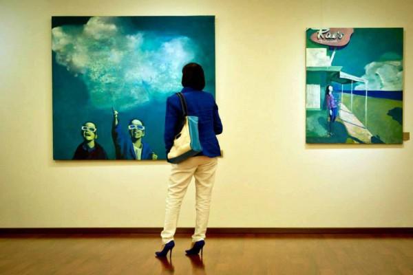 В музее Духовные сокровища Украины открылась выставка молодых художников при поддержке Slava Frolova-Group