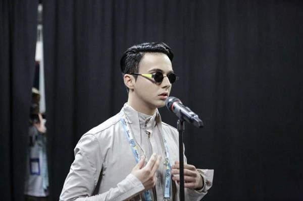 Melovin впервые выступил на конкурсной сцене