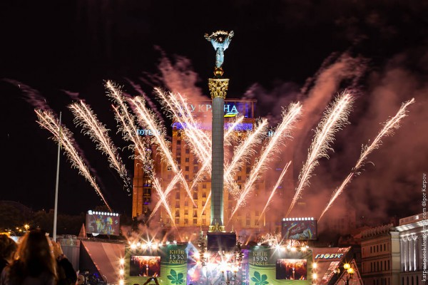 Верка Сердючка в Киеве фото и видео